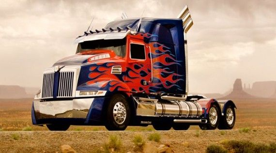 Transformers 4 New Optimus Prime Truck Design 570x316 Transformers 4:  New Optimus Prime, Two New Autobots; T.J. Miller Joins Cast