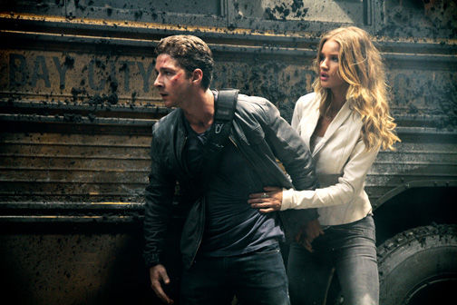 TRANSFORMERS 3 Shia LaBeouf Rosie Huntington-Whiteley