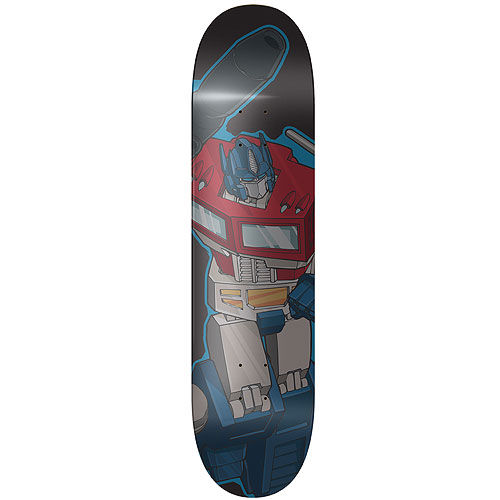 Transformers Optimus Prime Skateboard Deck SR Geek Picks: Movie Dance Tribute, Jane Austens Fight Club & More