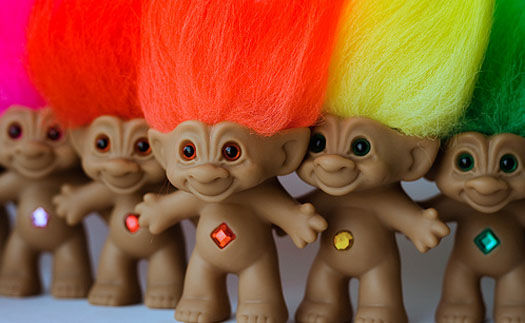 Troll dolls movie Animated Trolls Movie On The Way