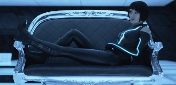 Tron Legacy Olivia Wilde.jpg Bridges, Hedlund And Lisberger Talk Tron Legacy