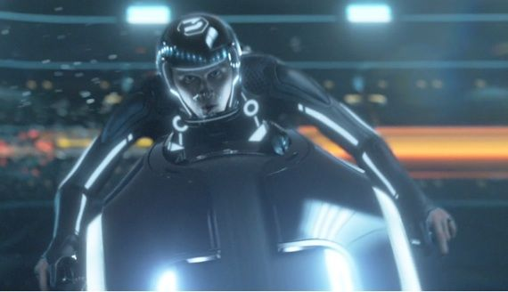 Tron Legacy Vehicles Featurette The Top 10 Movie Moments of 2010