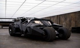 Tumbler The Dark Knight 280x170 Check Out All Six Batmobiles at Comic Con