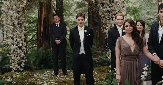 Twilight Saga Breaking Dawn Teaser Clip Breaking Dawn   Part 1 Trailer: Vampire Weddings, Romance, & Sex