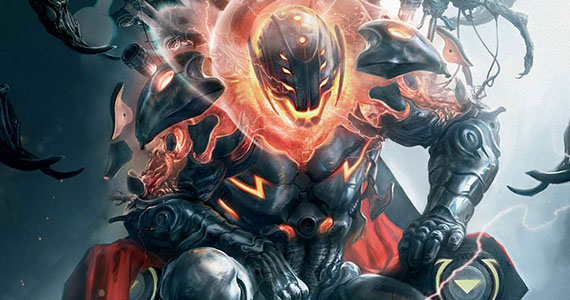 Ultron Marvel Comics Annihilation Conquest 5 Avengers 2: Scar Jo Talks Story Progression; New Inhumans Origin Rumor