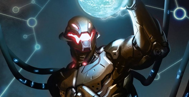 Ultrons holding Earth Rumor Patrol: The Avengers: Age of Ultron Plot and Character Details