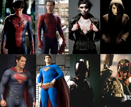 movie remakes reboots superman spider-man crow akira oldboy dredd dragon tattoo