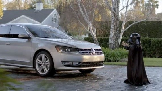 VW Darth Vader commercial 570x319 Advertising Experts Discuss 2011 Super Bowl Commercials
