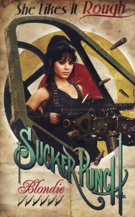 Vanessa Hudgens in Sucker Punch movie poster Vanessa Hudgens in Sucker Punch movie poster