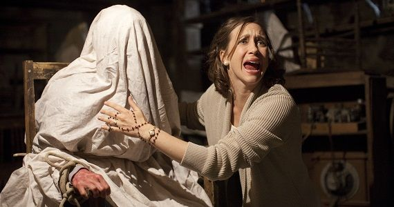Vera Farmiga as Lorraine Warren in The Conjuring The Conjuring Early Reviews: Is This the Scariest Movie of 2013?