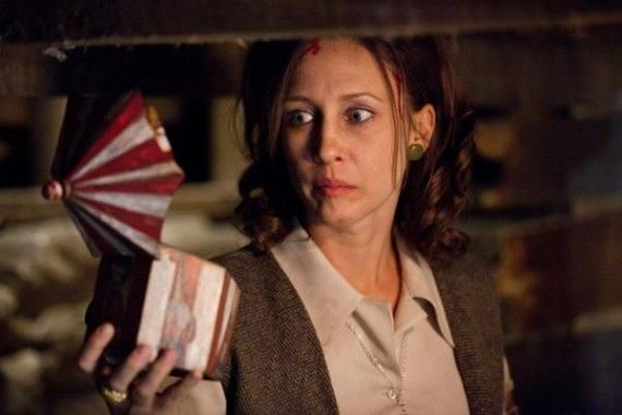 Vera Farmiga in The Conjuring 2013 570x380 Rumor: The Conjuring 2 Will Send the Warrens to 1970s England