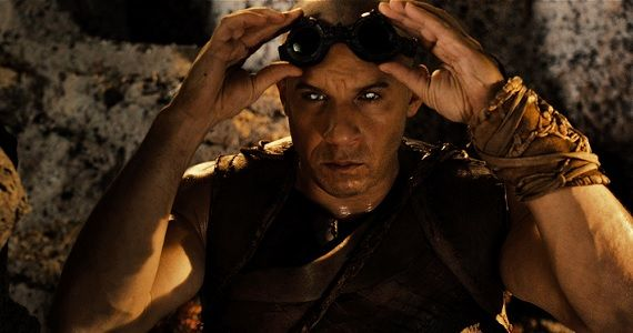 Vin Diesel as Riddick in Pitch Black Box Office Prediction: Riddick vs. Lee Daniels The Butler