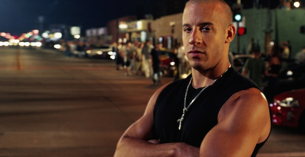 Vin Diesel in The Fast and the Furious Need for Speed vs. The Fast and the Furious   Which is the Better Car Movie?