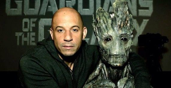 Vin Diesel is Groot Official Guardians of the Galaxy 570x294 Vin Diesel is Groot (Official) in Guardians of the Galaxy