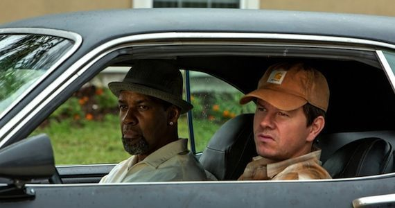Wahlberg and Denzel in 2 Guns 2 Guns Interview: Denzel Washington & Mark Wahlberg on Being Buddy Cops