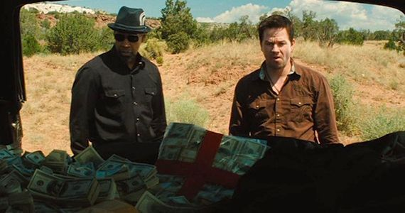 Wahlberg and Washington and a Whole Lot of Cash in 2 Guns 2 Guns Interview: Denzel Washington & Mark Wahlberg on Being Buddy Cops