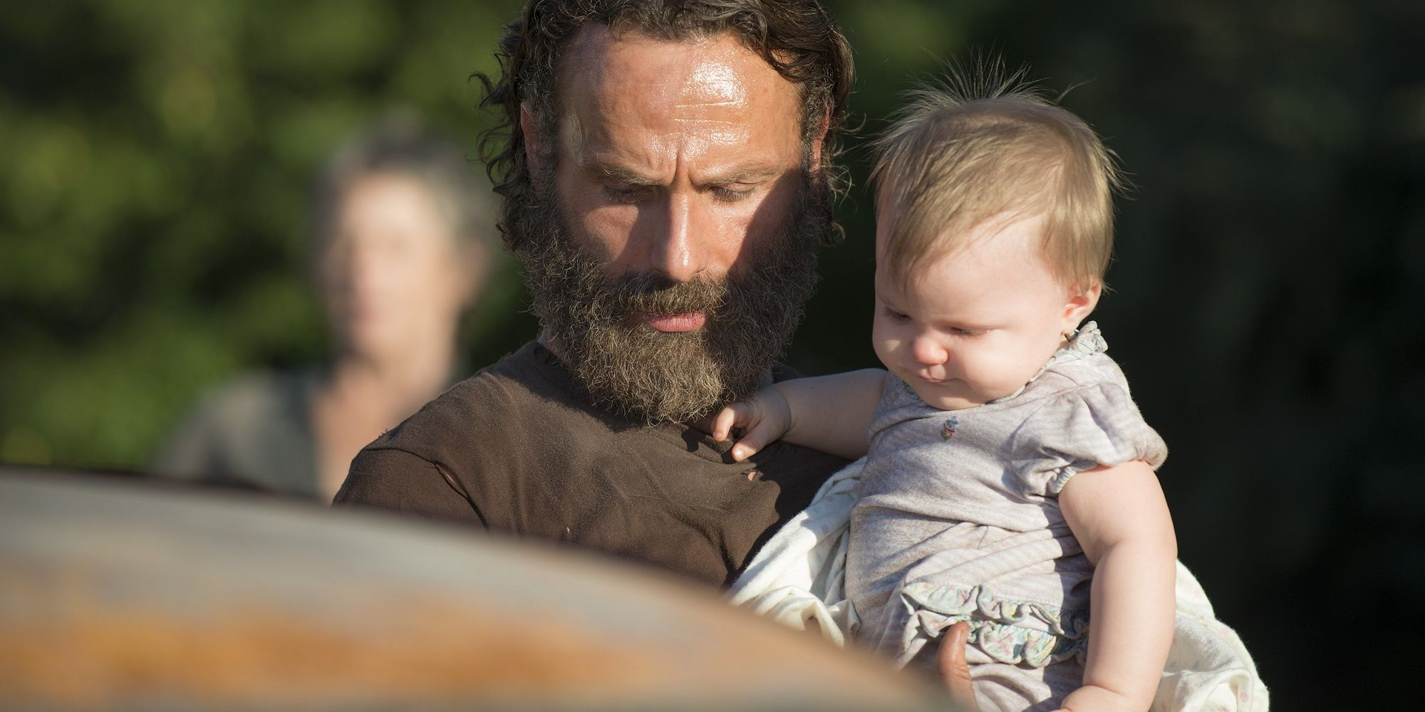 Walking Dead Judith and Rick