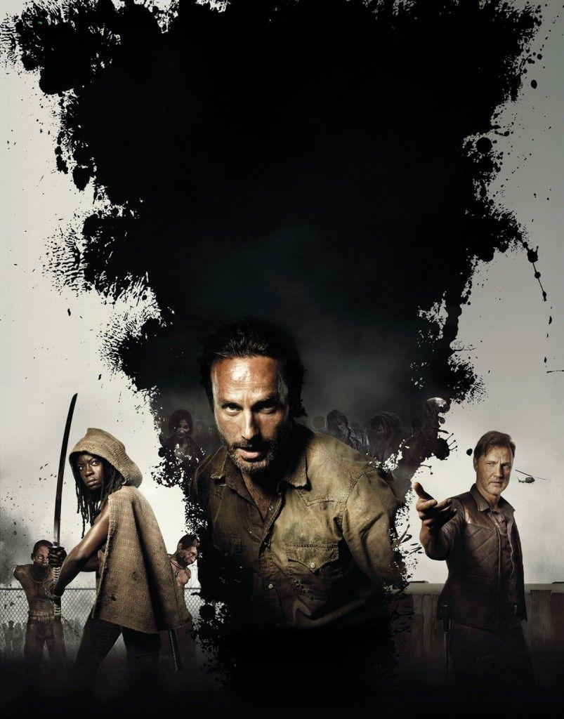 Walking Dead Season 3 Poster Textless 803x1024 The Walking Dead Season 3 Poster: Enter Michonne & The Governor!