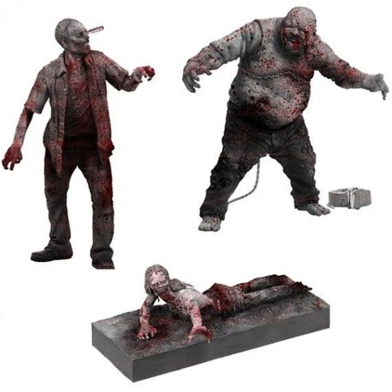 Walking Dead Zombie Figures 570x570 SR Geek Picks: A DeLorean Taxi, Doctor Who Christmas Decorations & More!