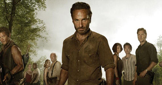 Walking dead cast pic New 'Walking Dead' Season 3 Poster: Has the Group Finally United?