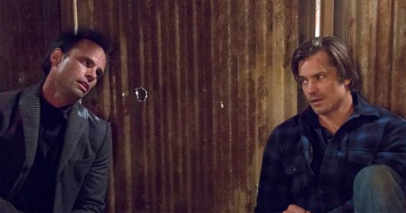 Walton Goggins and Timothy Olyphant in Justified Kin Justified Season 4, Episode 5 Review – The Games Afoot