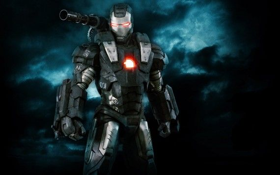 War Machine wallpaper 570x356 Don Cheadle Hints at War Machine in The Avengers 2