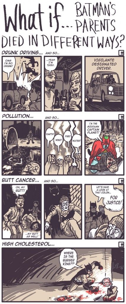 What if Batman's parents died in different ways… 427x1024 What if Batman's parents died in different ways…