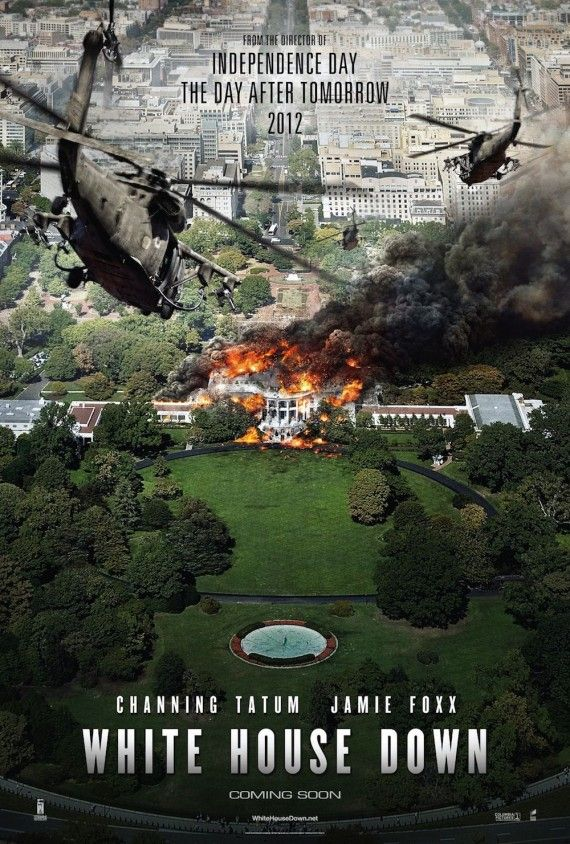 White House Down Movie Poster 570x844 New White House Down Trailer Features More Story & Action