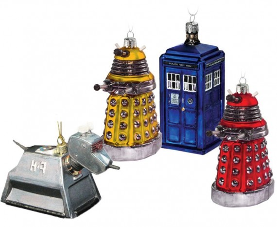 SR Geek Picks: A DeLorean Taxi, Doctor Who Christmas Decorations & More!