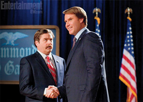 Will Ferrell Zack Galifianakis in The Campaign Screen Rants (Massive) 2012 Movie Preview