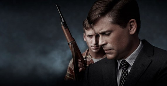Will Rothhaar and Rob Lowe in Killing Kennedy 570x294 Killing Kennedy & JFK: The Final Hours Review