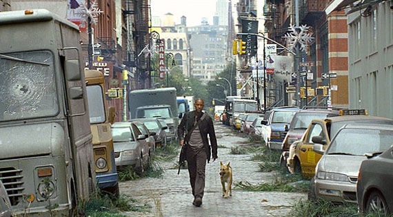 Will Smith I Am Legend Cain and Able with Will Smith and... Vampires?