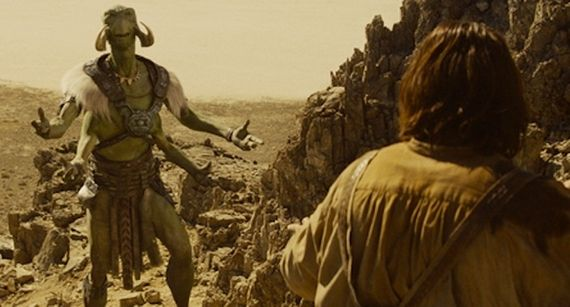 Willem Dafoe as Tars Tarkas in John Carter John Carter Review