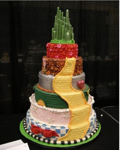 Wizard Of Oz Wedding Cake Wizard Of Oz Wedding Cake