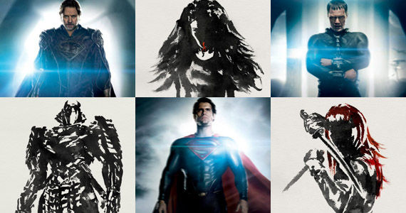 Wolverine Man of Steel Character Posters New Man of Steel & The Wolverine Character Posters