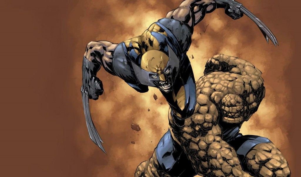 Wolverine Thing Fantastic Four X Men 1024x604 Rumor Patrol: X Men vs. Fantastic Four Movie Story Revealed [Debunked]