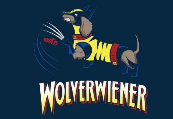 Wolverwiener 570x392 SR Geek Picks: The Wolverwiener, Bad Lip Reading: Hunger Games, Walking Dead Busts & More!