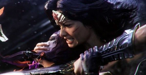 Wonder Woman Injustice Trailer 570x294 Wonder Woman TV Series Amazon Dead at CW   Surprised?