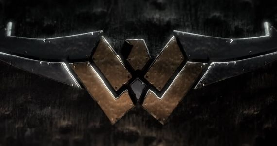 Wonder Woman Metal Leather Logo WB Executive Dodges Wonder Woman Question for Batman vs. Superman