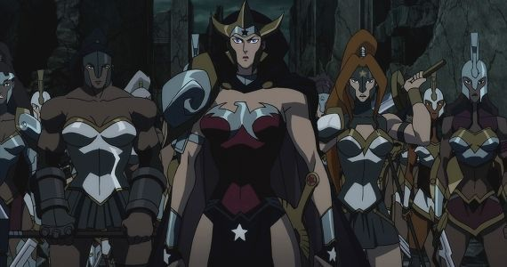 Wonder Womans Army in Justice League The Flashpoint Paradox Justice League: The Flashpoint Paradox Review