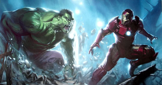 World War Hulk vs Iron Man Avengers: Age of Ultron First Set Videos & Images