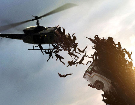 World War Z Helicopter