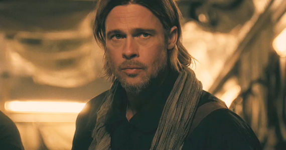 World War Z Pitt Scarf World War Z Original Ending Revealed; Sequel to Begin Development
