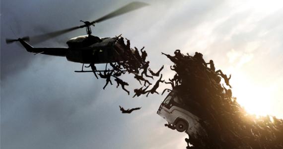 World War Z helicopter swarm