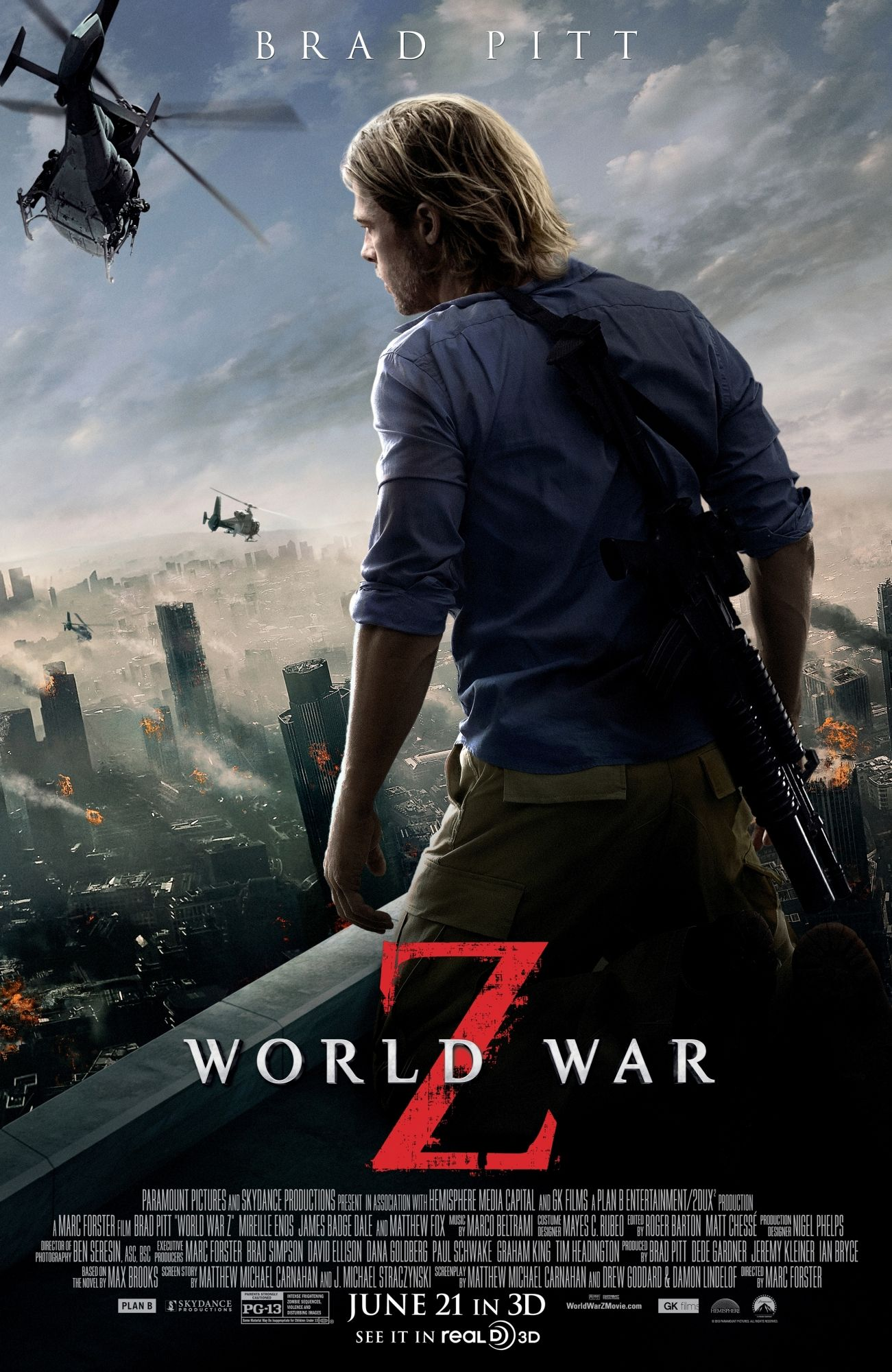 World War Z poster World War Z poster