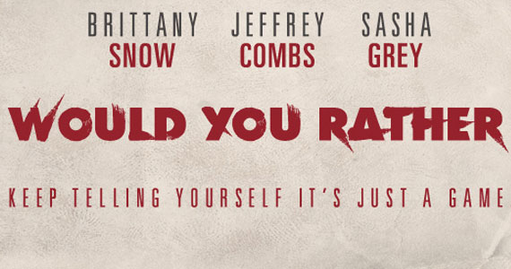 Would You Rather Poster 'Would You Rather' Interview: Jeffrey Combs Would Rather Not Play His Own Game