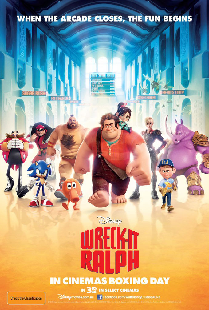 new pictures amp international poster for �wreckit ralph