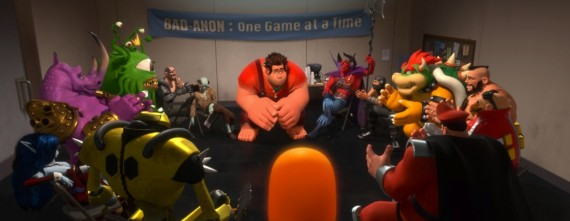 Wreck It Ralph at Bad Guys Anonymous