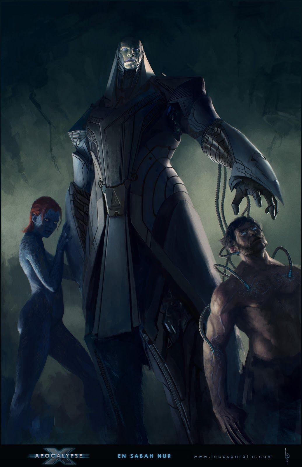 X-Men: Apocalypse Photos Offer Better Look at Archangel ... Apocalypse