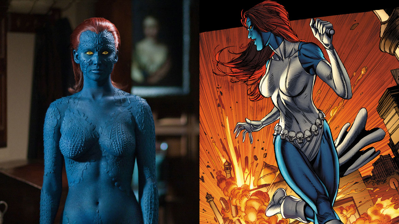 X Men Girl Characters The gallery for -->...